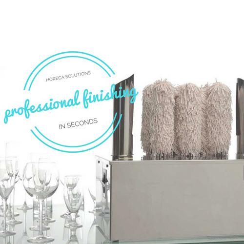 Frucosol ofrece higiene y eficiencia en su nuevo abrillantador de copas SV2000