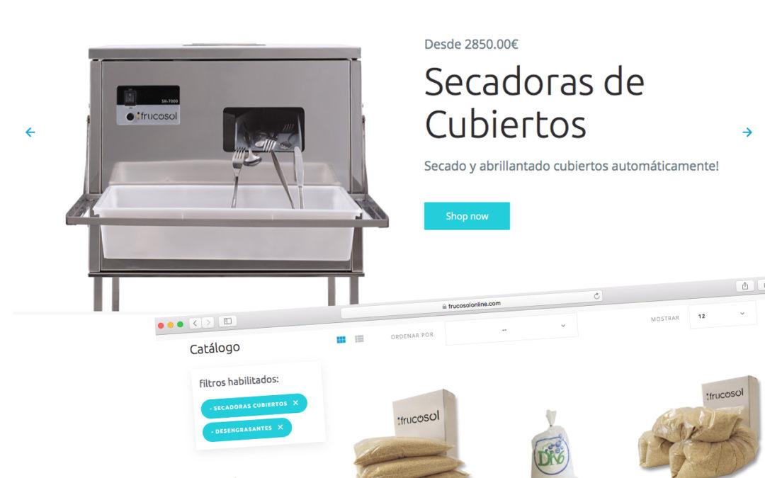 Frucosol renueva su tienda online para Horeca