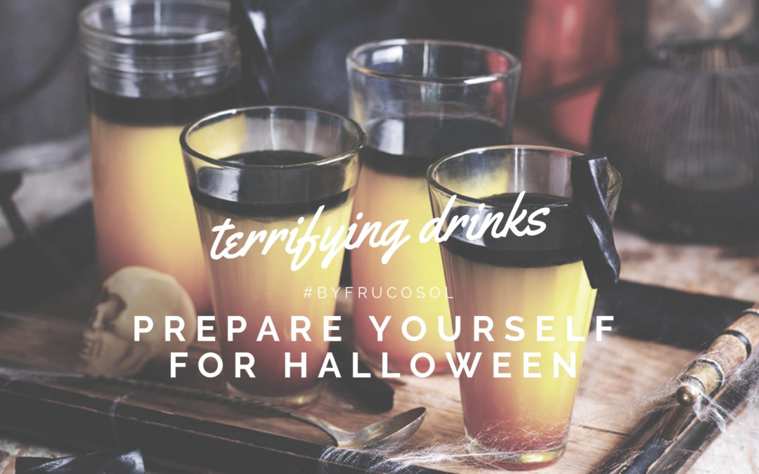 Create scary cocktails with Frucosol