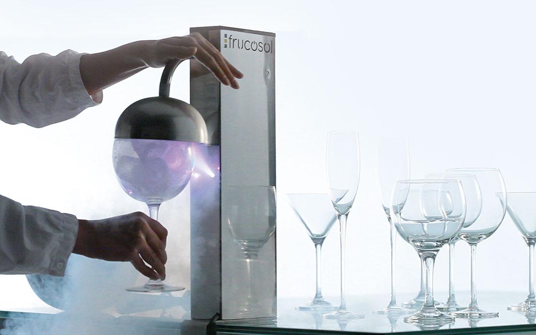 Enfriador de copas GF1000 – ¿cómo congela?