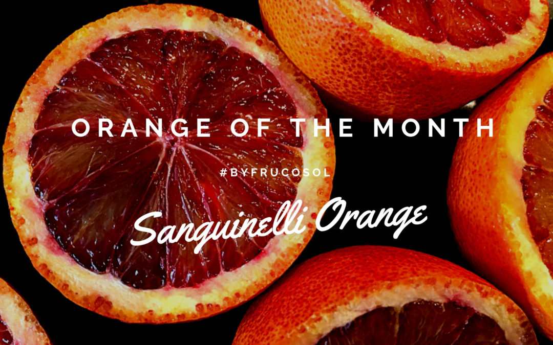 Orange of the month – sanguinelli orange