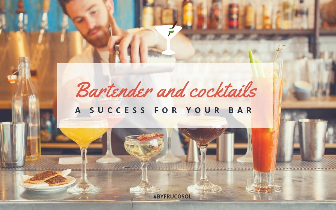 Bartender y coctelería, una mejor atención detrás de la barra.