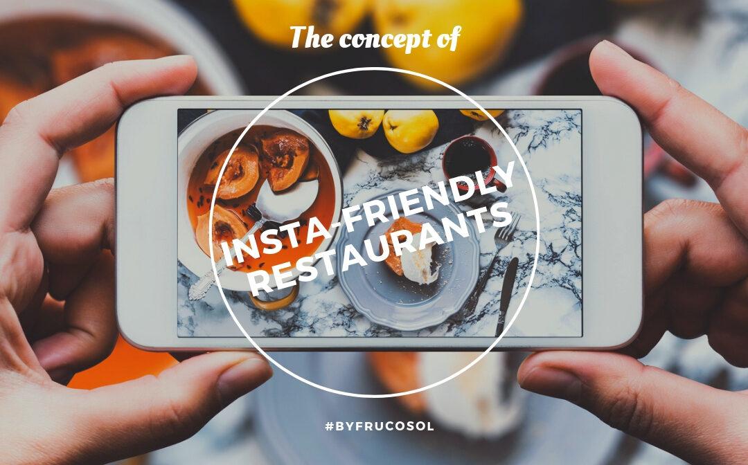 """El concepto de los """"restaurantes instagrameables"""""""