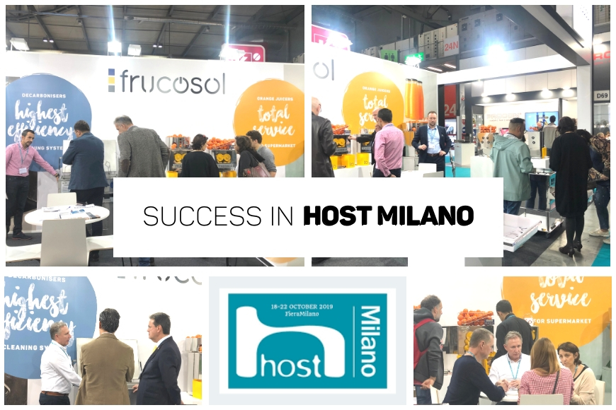 One more year Frucosol participates in HOST2019, the unavoidable appointment for the hospitality industry.