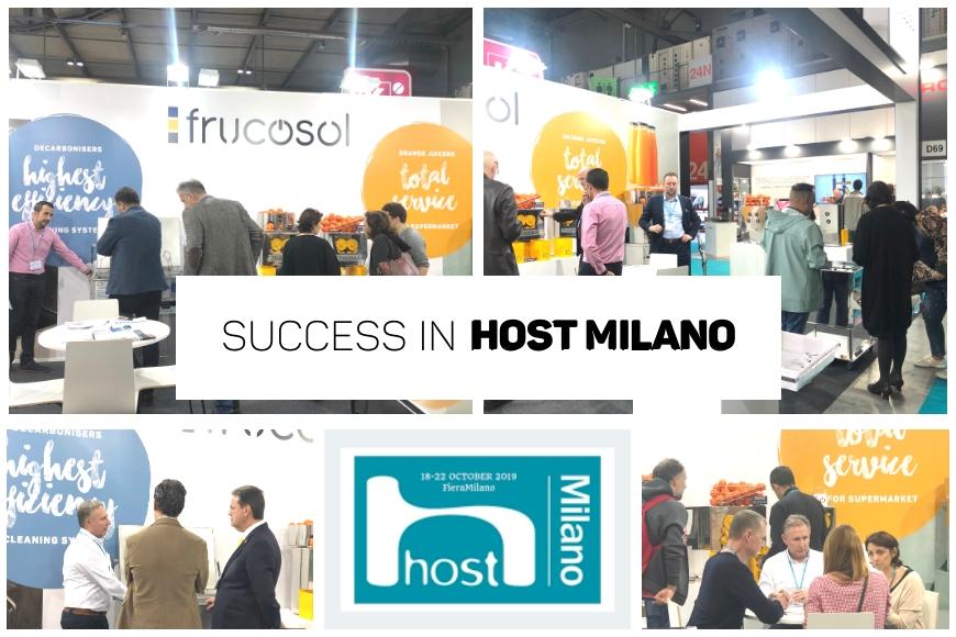 Un año más Frucosol participa en HOST2019, la cita ineludible para la hostelería.