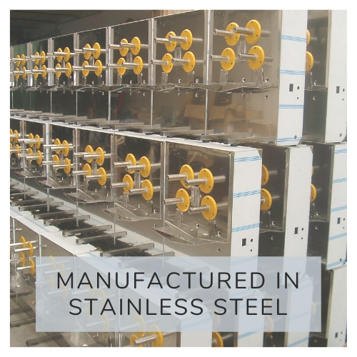 Fabricación en acero inoxidable
