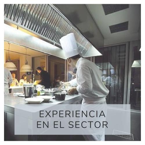 Experiencia en el sector