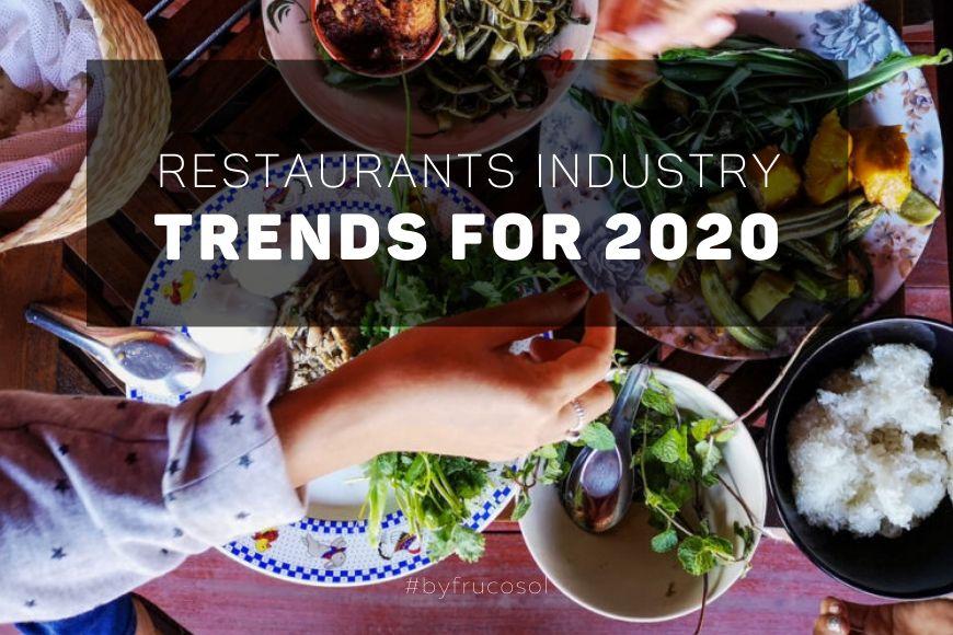 Tendencias 2020 para los restaurantes