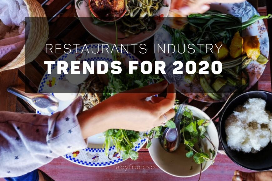 Restaurants industry trends for 2020
