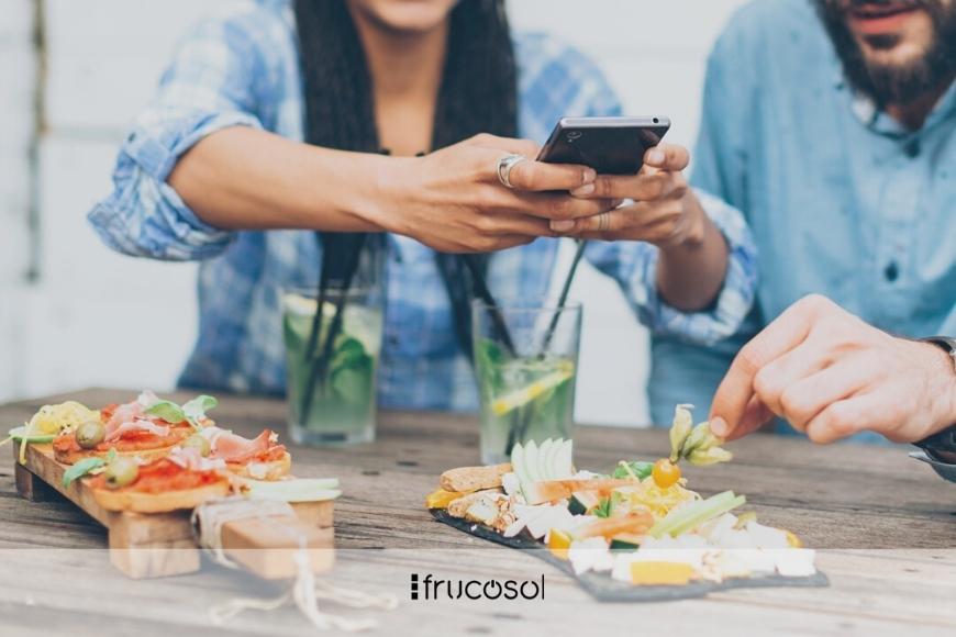 Restaurant marketing on Instagram.